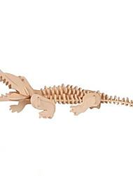 economico -Puzzle 3D Giocattoli A pelle di coccodrillo Legno Unisex Pezzi