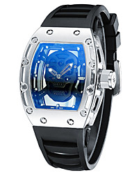 Fashion Mens Watches Top Brand Luxury Men Hollow Skull Wristwatch For Male Sport Clock Watch Relojes Hombre