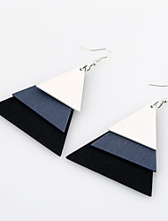 Women's Earrings Set Jewelry Fashion Euramerican Simple Style Wood Jewelry For Wedding Party Birthday Gift