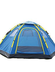 5-8 persone Tenda Doppio Tenda da campeggio Una camera Tende da campeggio formato famiglia Ompermeabile Resistente ai raggi UV