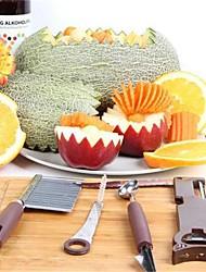 4 Peças Colher Peeler & Grater Cortador e Fatiador Abridor de lata Mold DIY For Vegetais Para utensílios de cozinha FrutaAço Inoxidável