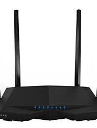 baratos -Roteador sem fio inteligente tenda 1200mbps dual-band gigabit wifi router ac6