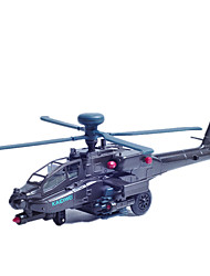cheap -KDW Pull Back Vehicles Helicopter Toys Plane / Aircraft Plastic Pieces Unisex Gift