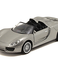 cheap -Toy Cars Race Car Toys Pull Back Vehicles Music & Light Car Metal Pieces Unisex Gift