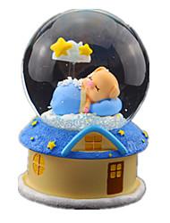Недорогие -музыкальная шкатулка Снежный шар Резина Квадратный Поросенок Сияние в темноте Подарок Универсальные Подарок