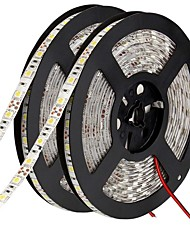 cheap -10m Flexible LED Light Strips 600 LEDs 5050 SMD Warm White / White / Red Cuttable / Linkable / Suitable for Vehicles 12 V / Self-adhesive / IP44