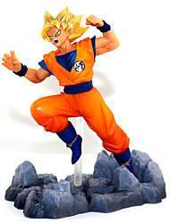 economico -Figure d'azione anime ispirate a palla di drago figlio modello giacca 13 cm giocattoli bambola giocattolo