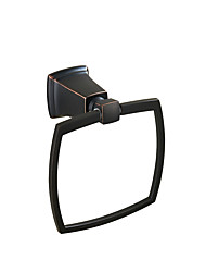 cheap -Towel Racks & Holders Classic Stainless Steel 1 pc - Hotel bath towel ring