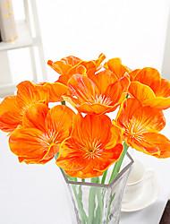 10 Une succursale Contact réel Autres Fleur de Table Fleurs artificielles