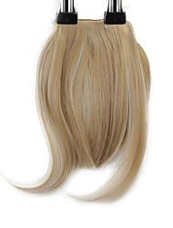 economico -neitsi 1pcs 8 '' 25g / pc clip dentro su capelli sintetici dritti corti capelli frangia frangetta M24 / 613 #