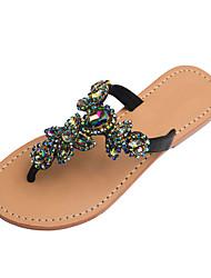 Da donna-Sandali-Formale Casual Serata e festa-Club Shoes-Piatto-PU (Poliuretano)-