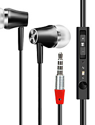 Cost-effective In-ear Earphone with Microphone HD Sound Quality Wired Earbuds 3.5mm Audio Music Headset Voice Control