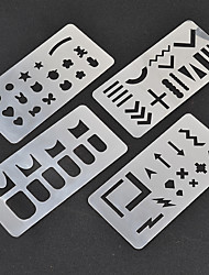 cheap -Stamping Plate Nail Stamping Template Daily Fashion High Quality