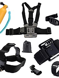 cheap -Sports Action Camera Chest Harness Front Mounting Tripod Multi-function Foldable Adjustable All in One Convenient For Action Camera Gopro