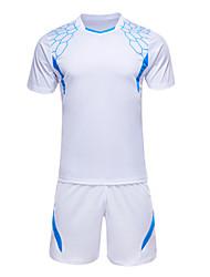 Недорогие -Футбол Джерси Спортивный костюм Верхняя часть Удобный Лето Классика Полиэстер Футбол