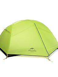 Naturehike 2 Personen Zelt Doppel Camping Zelt Einzimmer Zelte für Rucksackreisen Regendicht für Reisen CM