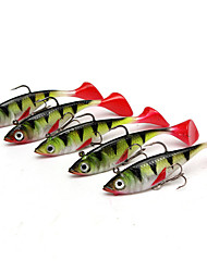 cheap -5 pcs Fishing Lures Shad Silicon Bait Casting Lure Fishing