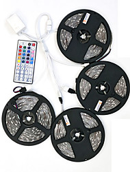 cheap -ZDM 20M(4*5M) Waterproof 120W 600X5050 RGB  LEDs Strip Flexible Light DC 12V  with 1BIN4 connector and 44Key IR Remote Controller Kit