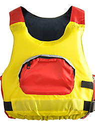 Life Jacket Breathable Diving Neoprene Fashion Yellow