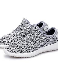 Damen-Sneaker-Outddor Lässig Sportlich-Tüll-Flacher Absatz-Leuchtende Sohlen paar Schuhe Komfort-