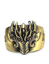 cheap -Inspired by Cosplay Chyouun Shiryuu Anime Glory Of The King Ring Golden Alloy I.D 19MM