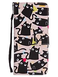 Carcasă Pro Samsung Galaxy S8 Plus S8 Pouzdro na karty Peněženka se stojánkem Flip Vzor Oboustranný Kočka Pevné Umělá kůže pro S8 S8 Plus