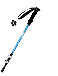 cheap -3 Nordic Walking Poles 135cm (53 Inches) Damping Foldable Light Weight Adjustable Fit Aluminum Alloy 7075 Camping & Hiking Snowshoeing