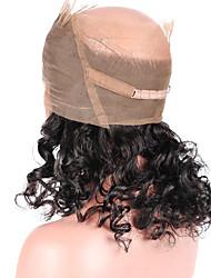 Natürliche Haarlinie lose Welle 360 Spitze frontalen Verschluss mit Babyhaar 100% brasilianisches reines Menschenhaar vor gezupftes 360
