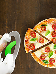 cheap -Plastic Creative Kitchen Gadget Pizza Cutter & Slicer