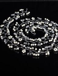 headbands de cristal perle headpiece de chaîne headpiece style féminin classique