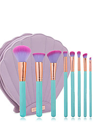 cheap -10pcs Makeup Brushes Professional Makeup Brush Set / Blush Brush / Lip Brush Synthetic Hair / Artificial Fibre Brush Travel / / Wood