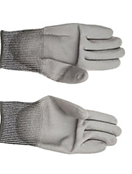 star gloves 9 pu anti cut gloves andmedium-sized palmディップ工業用保護手袋。