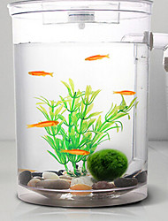 cheap -Aquarium Decoration Mini Aquariums Ornament Noctilucent Energy Saving Noiseless Non-toxic & Tasteless Sterilize Artificial With