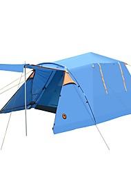 economico -CAMEL 3-4 persone Tenda Doppio Tenda da campeggio Una camera Tenda automatica per Campeggio Viaggi CM
