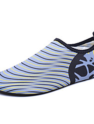 Men's Loafers & Slip-Ons Couple Shoes Light Soles Fabric Outdoor Flat Heel Black/Blue Black/Green Gray Upstream shoes