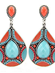 Women's Drop Earrings Fashion Personalized Statement Jewelry Africa Costume Jewelry Resin Alloy Drop Jewelry For Party Special Occasion