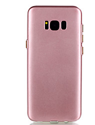 cheap -For Samsung Galaxy S8 Plus S8 TPU Material Solid Color Fuel Injection Phone Case S7 Edge S7