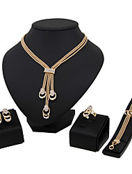 cheap -Women's Jewelry Set Classic Fashion Euramerican Wedding Party Special Occasion Halloween Anniversary Birthday Housewarming