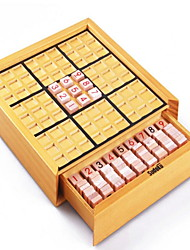 cheap -Board Game Chess Game Sudoku Puzzles Toys Square Wood Pieces Unisex Gift