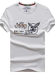 Homme Tee-shirt de Randonnée Séchage rapide Respirable Tee-shirt Hauts/Top pour Chasse Eté L XL XXL XXXL XXXXL