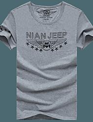 Homme Tee-shirt de Randonnée Séchage rapide Respirable Tee-shirt Hauts/Top pour Pêche Eté L XL XXL XXXL XXXXL