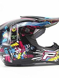 Off-Road Motorcycle Racing Helmet Capital P Pattern Full Face Speed Racing Durable Motorsport Helmet