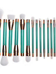 1setMakeup Brush Set Blush Brush Eyeshadow Brush Lip Brush Brow Brush Eyelash Comb (Round) Eyelash Brush Concealer Brush Powder Brush