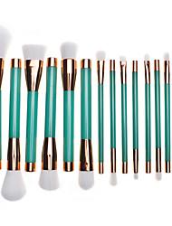 1 juegoSistemas de cepillo Cepillo para Colorete Pincel para Sombra de Ojos Pincel para Labios Cepillo de Cejas Cepillo de Cejas