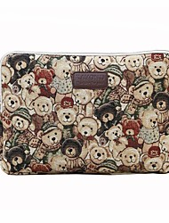 11.6 12 13.3 14.1 15.6 inch Cute Bear Computer Bag Notebook Sleeve Case for Surface/Dell/HP/Samsung/Sony etc