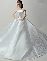 Mariage Robes Pour Poupée Barbie Pour Fille de Jouets DIY
