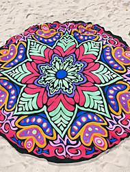Недорогие -Свежий стиль Пляжное полотенце,Реактивная печать Высшее качество 100% полиэстер Полотенце