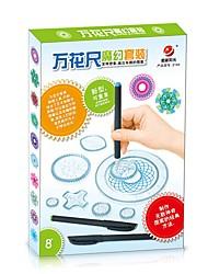 abordables -Juguetes para los muchachos Juguetes de aprendizaje  Kit de Bricolaje Juguetes científicos Cuadrado