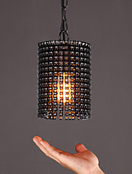 cheap -Single Head Post Modern Style Painting Black Color with the chain Chandelier Lamp for the House Decorate Pendant Lamp