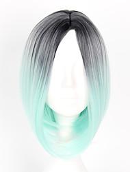 Недорогие -Парики для Лолиты Сладкое детство Зеленый с белым Парики для Лолиты 14 дюймовый Косплэй парики Парики Хэллоуин парики